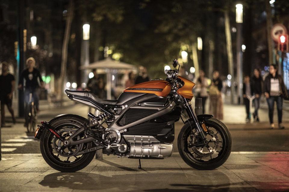 Motocykl elektryczy Harley-Davidson Live-Wire